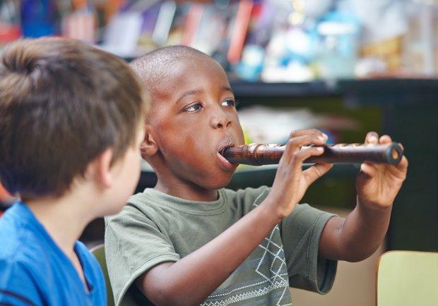 Fun preschool music games